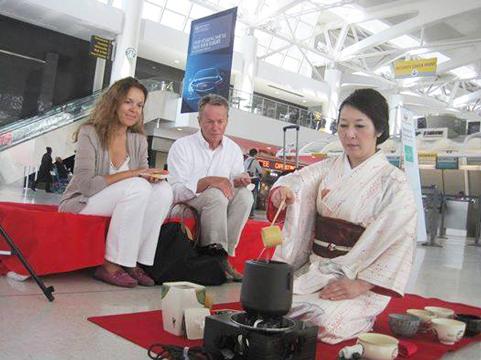 Tea ceremony abroad