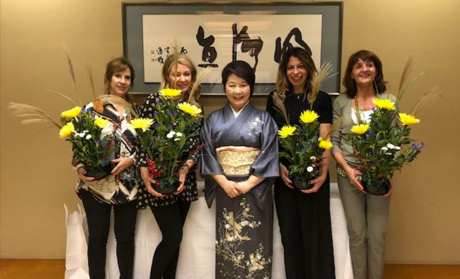 Tea ceremony session